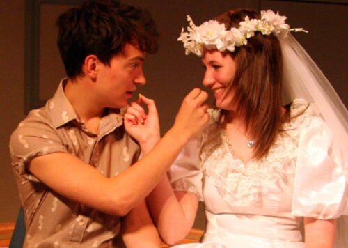 Benjamin And Elaine On Their Wedding Night Eating Cheerios