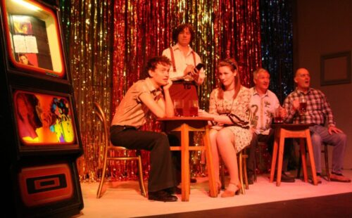 Benjamin And Elaine Meet In A Night Club
