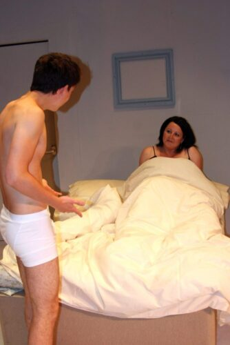 Benjamin And Mrs Robinson Meet In The Hotel