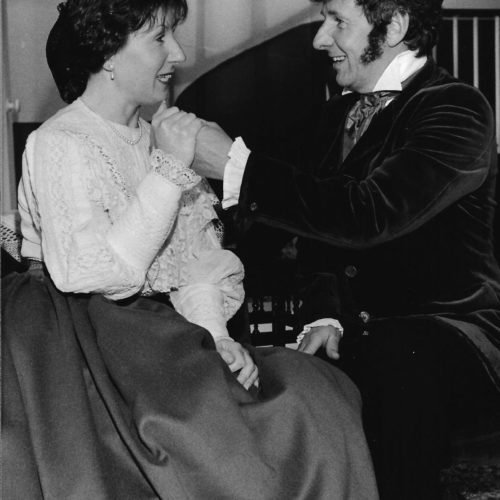 Grace Walker Plays Catherine With Peter Inglis As Morris Townsend