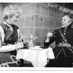 Sylvia Paulin As Catherine Petkoff And Frank Yearsley As Major Paul Petkoff