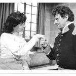Jane Douglas As Raina And Peter Inglis As Bluntschli