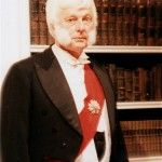 Brian Nutter As The Earl Of Caversham