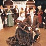 Jenni Rushton As Mrs Cheveley And Geoffrey Hall As Sir Robert Chiltern