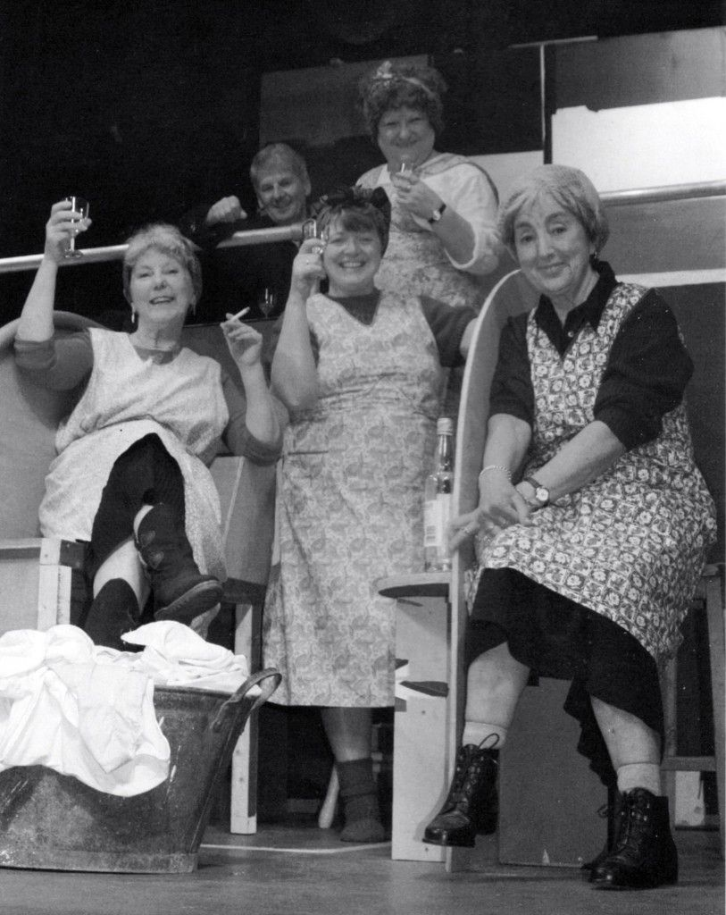 The Cast of The Steamie