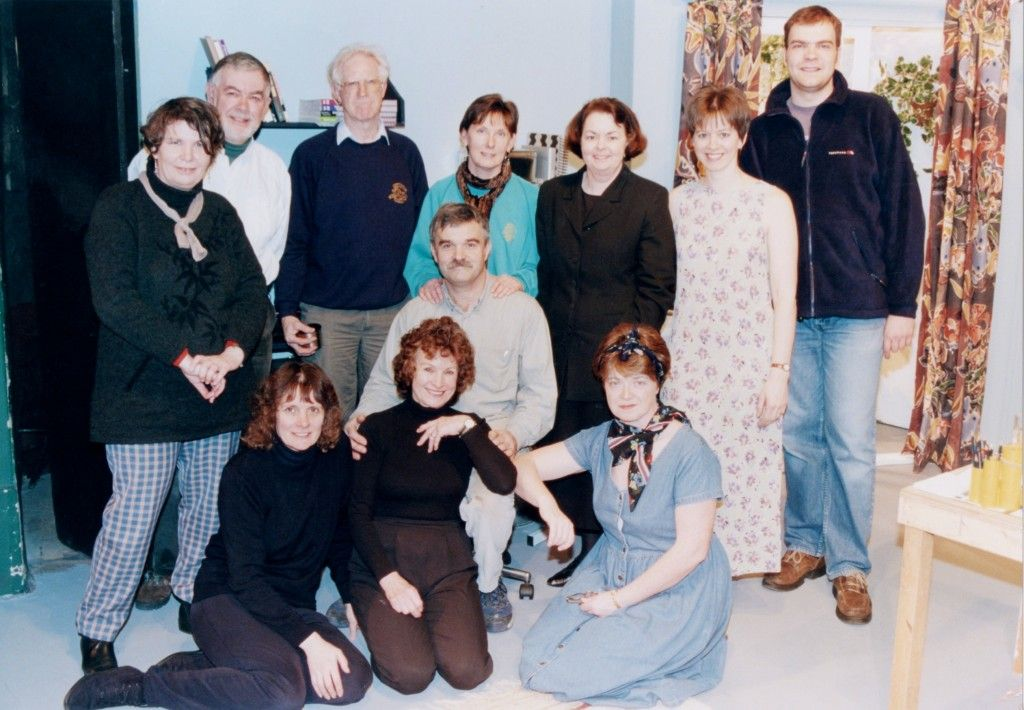 """The Cast and Backstage Crew of """"Dead Guilty"""""""