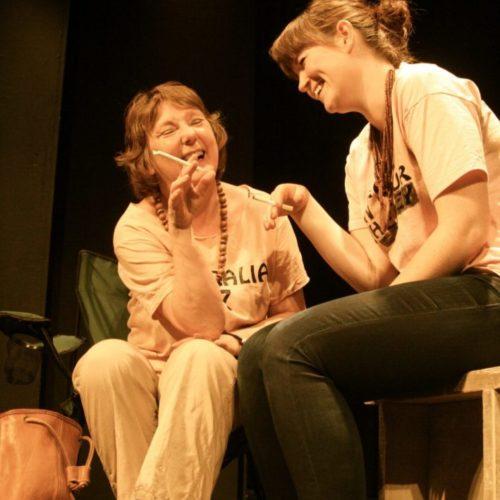 Jenni Rushton And Rosie Matin