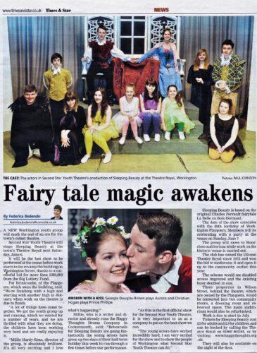 Fairy Tale Magic Awakens - Times & Star 29th May, 2015