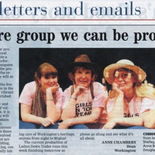 Theatre Group We Can Be Proud Of - Friday October 10, 2014 - Times And Star