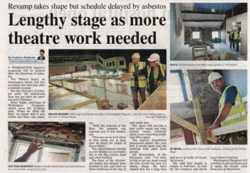 Theatre Opening Delayed - Friday 9th October 2015 Times And Star
