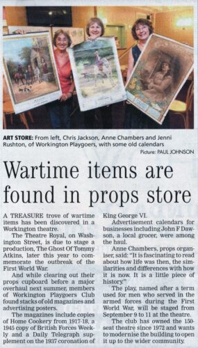War Time Finds - Friday August 8, 2014 - Times And Star