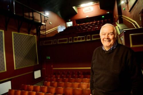 The Theatre Royal In Workington Has Been Handed Over To The Playgoers After Its Refurbishment. Geoff Brinicombe, Technical Director - Photograph Tom Kay Friday 18th March, 2016 Times And Star