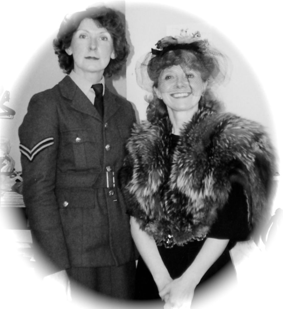 Jenni Rushton As Lady Elizabeth Randall And Sylvia Heaney As Mabel Crum