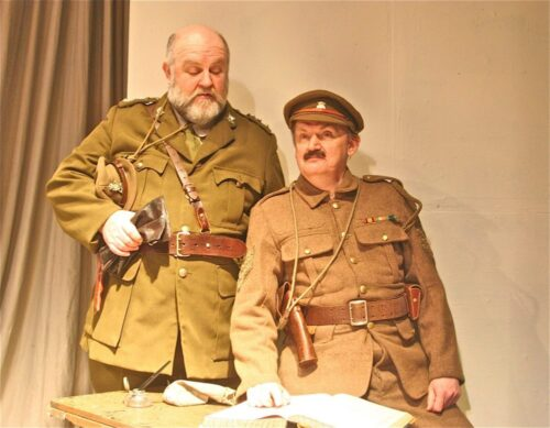 Morgan Sweeney And Geoffrey Hall