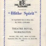 Blithe Spirit, One Of The Plays Chosen For The Silver Jubilee Programme