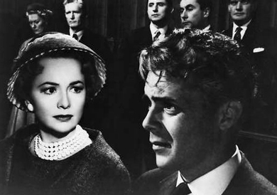 Dirk Bogarde Plays The Impostor Sir Mark Lodden And Olivia De Havilland As Lady Lodden In The Film Libel 1959