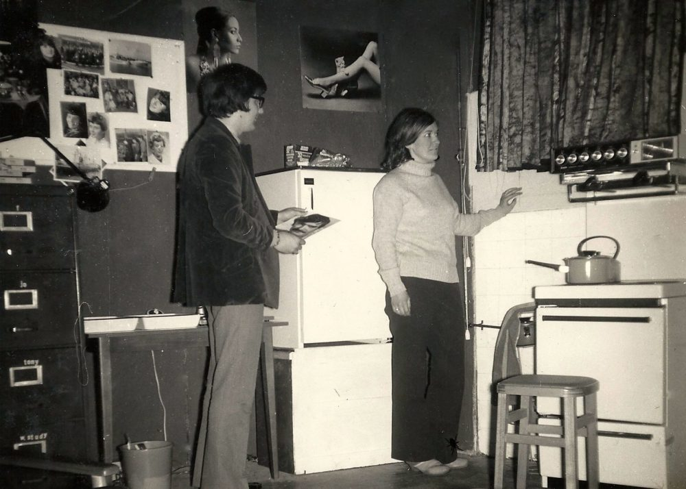 Keith Beattie As Sam Hendrix With Judy Blake As His Blind Wife Susy