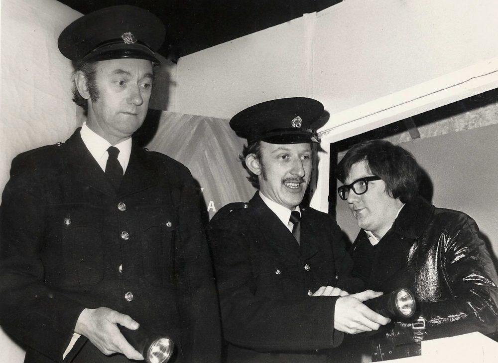 Jack Farish, Graham Mitchell And Keith Beattie As Sam Hendrix
