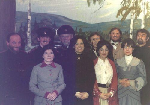 The Cast Of Three Sisters