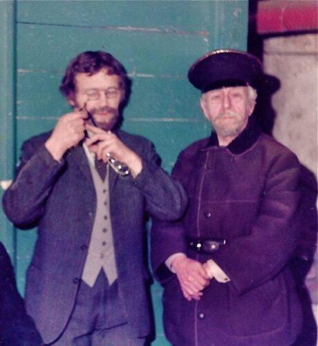 Phil Heal As Theodore Kulygin And Tony Murray As Ferapont