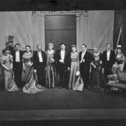 The Cast Of Lady Windermere's Fan