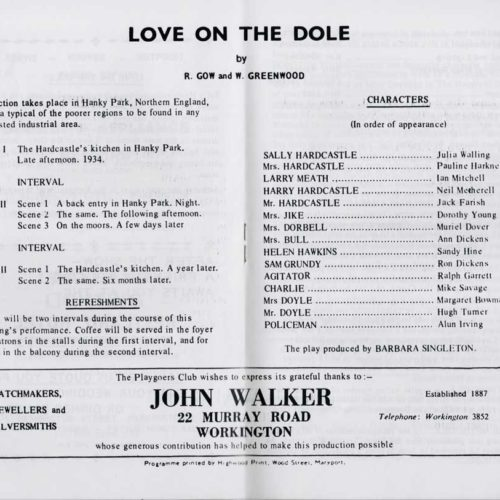 The Programme-The Cast