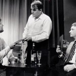 'Care To Order, Sir', Waiter Jim Howson With Jerry Played By Peter Wiseman And Robert Played By Eddie Parsons