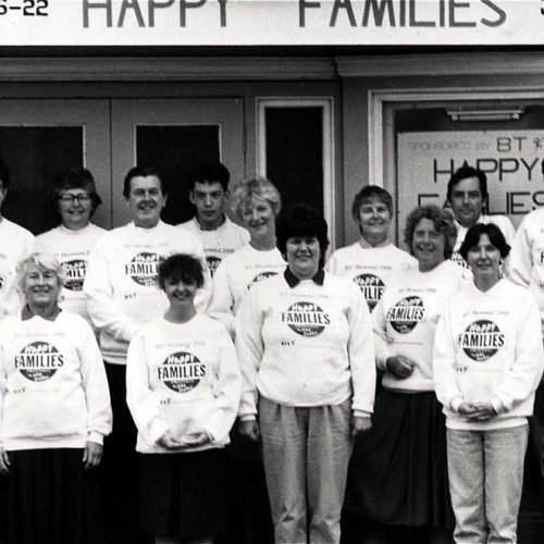 Cast And Crew Of Happy Families By John Godber