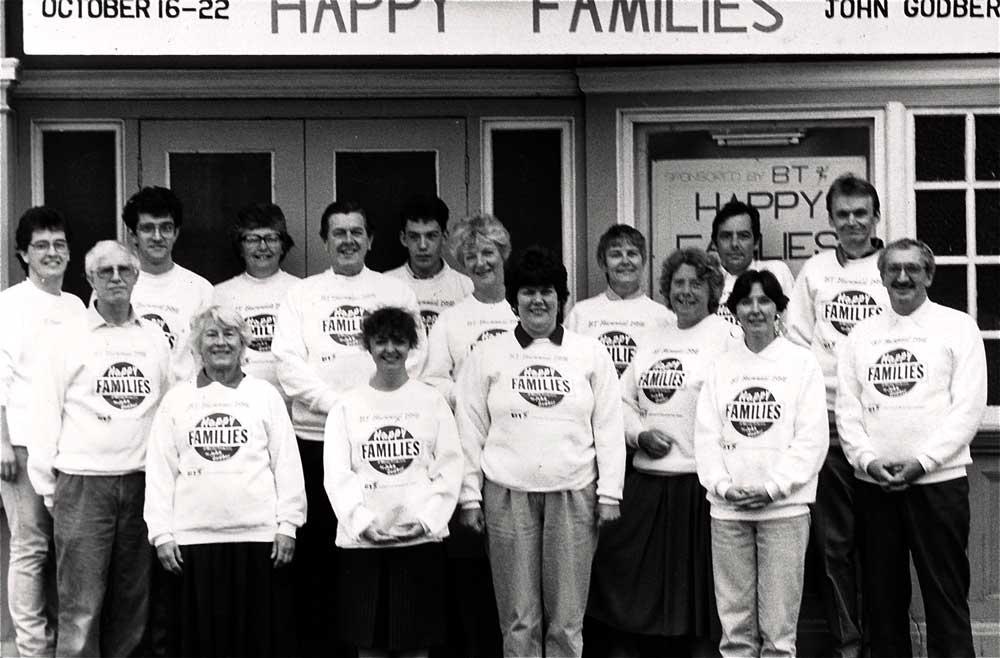 1st BT Biennial 1991 Happy Families by John Godber
