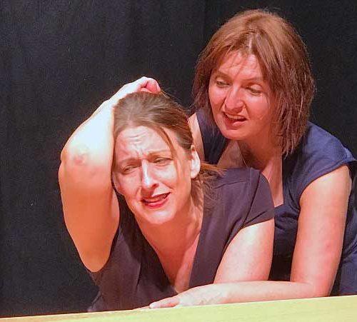 Flora Strangling Kate