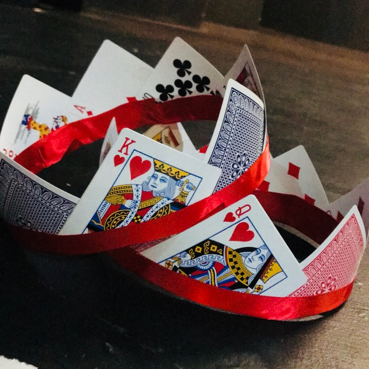 King and Queen of Hearts Crowns