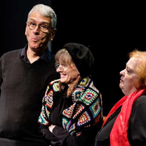 Jim Samson, Sarah Delorme And Gillian Scholey