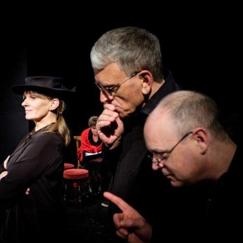 Sarah Delorme, Jim Samson And Ian Quirk