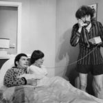 Laurie Clark As Nick, Muriel Armstrong As Jan And Robbie Graham As Trevor