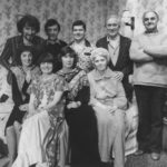The Cast Of Bedroom Farce With Director Dudley Evans