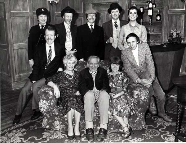 Back Row: Margaret Yearsley, Derek Dearne, Keith Beattie and Jane Dickens. Sitting: Steve Baxter, Marjorie Hool, Ted Younghusband, Sylvia Heaney and Frank Yearsley.