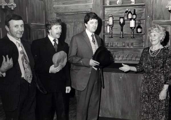 L/R Derek Dearne, Bob Johnson, Keith Beattie and Marjorie Hool