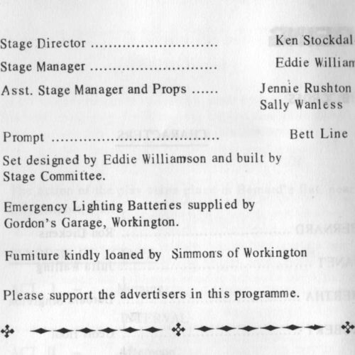 The Programme - The Crew