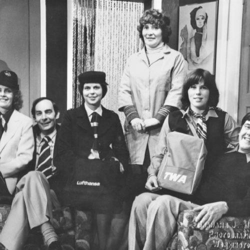 L/R Helen Iveson, Ron Dickens, Jilly Mitchell, Barabara Singleton, Julia Walling And Geoff Hool