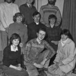 The Cast Of Serious Charge Back Row: Robbie Graham, Dudley Evans And Ron Dickens. Sitting: Jean Evans, Ian Mitchell And Sandy Hind. Kneeling: Anne Meldrum, Stuart Sorensen And Jane Dickens