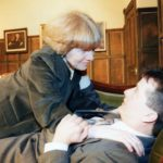 Sylvis Heaney As Miss Frobisher Tries To Take Advantage Of Philip Mackie As Rodney Campbell