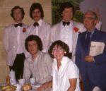 Standing: Derek Sorenson, David Bevan, Keith Beattie And John Skelton. Sitting: Chris Wimhurst And Jenni Rushton