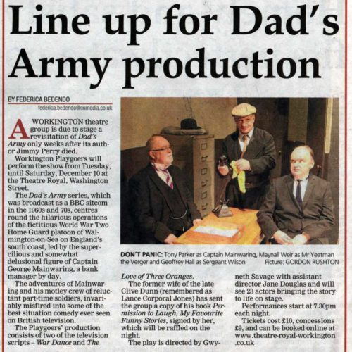 Dad's Army Preview