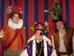 James Sheppard As Sir Percy, Geoffrey Hall As Melchett And Andy Greenwood As Baldrick
