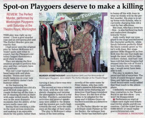 Times And Star Review By Federica Bedendo Friday 7th October