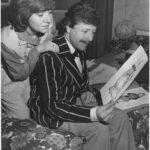 Brenda (Sylvia Heaney) And Roger (Bob Johnston) Look At The Designs