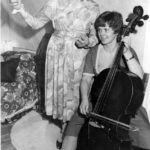 Aunt Helen (Margaret Graham) Conducts Freddy (Jilly Mitchell) As She Plays For The Guests