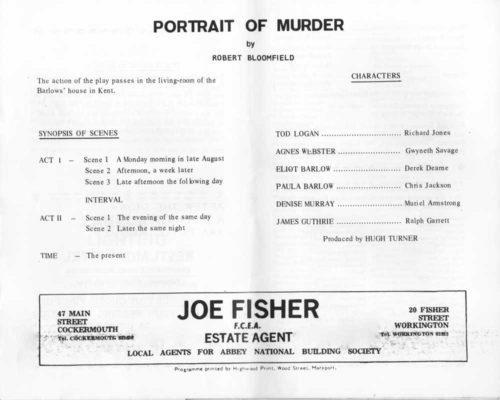 Programme - Cast
