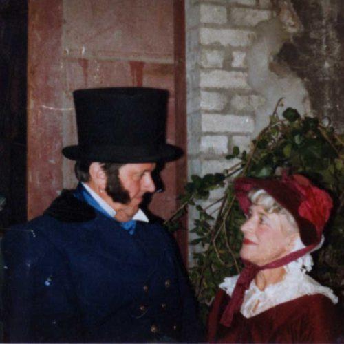 Geoff & Marjorie Hool As Tracy Tupman & Rachel Wardle