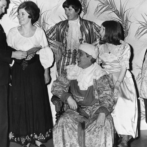 Cast With Director Brian Bevan